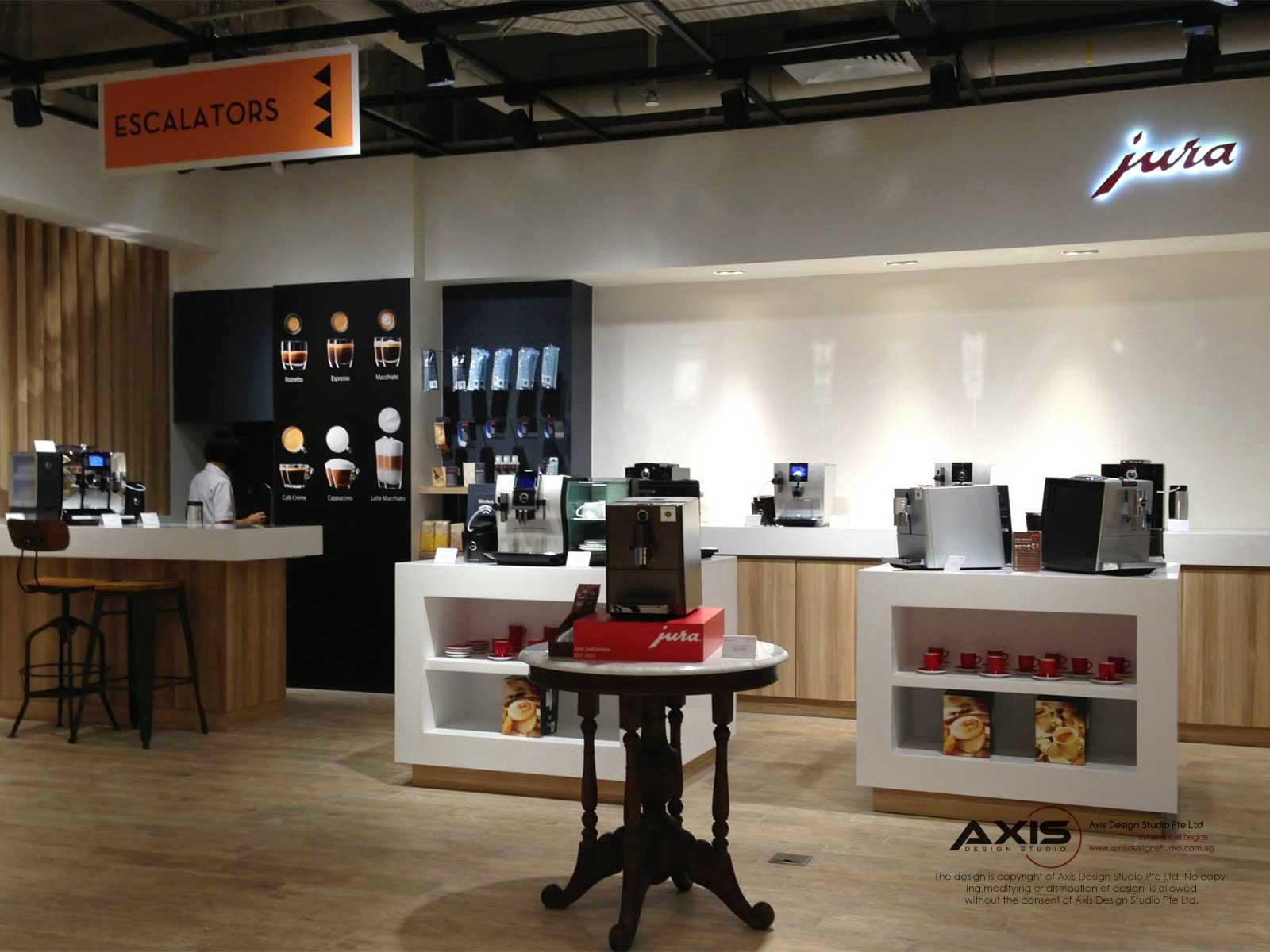 Jura Retail Pop-up Store